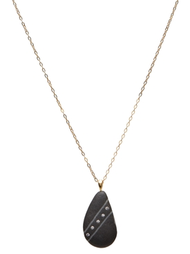 Soar Diamond and Stone Necklace