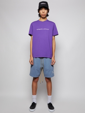 EXPENSIVE AND DIFFICULT T-SHIRT PURPLE
