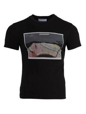 Anthropocene graphic print t-shirt BLACK
