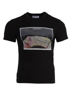 Anthropocene graphic print t-shirt BLACK