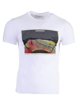 Anthropocene graphic print t-shirt WHITE
