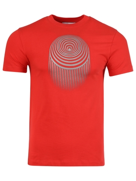 LARGE FIT OPTIC MOON T-SHIRT FIERY RED