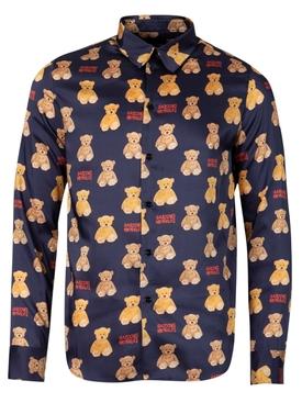 Teddy bear Shirt Navy blue