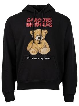 Teddy Bear Sweatshirt Black