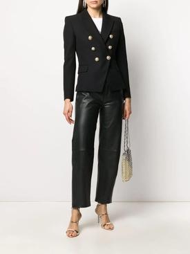Classic double-breasted blazer black