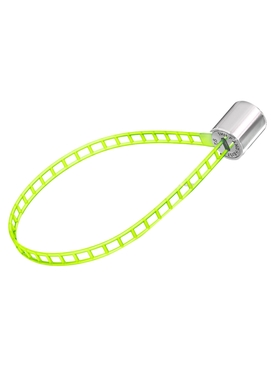 Yellow Cylinder Bracelet