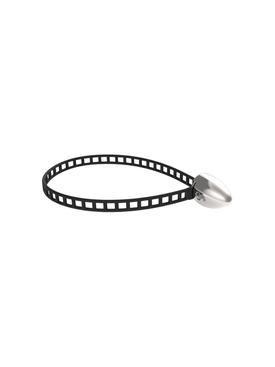 Black Cylinder Bracelet