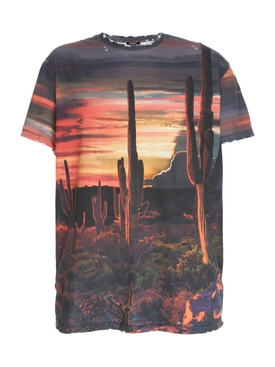 Sunset Desert Print T-shirt