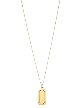 BIG TOKYO NECKLACE, YELLOW GOLD