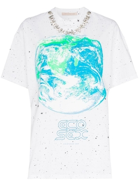 Christopher Kane - Ecosexual Crystal T-shirt - Women