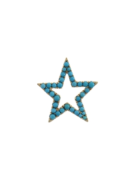 Turquoise Star Charm Pendant