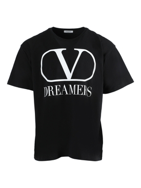 Dreamers logo t-shirt BLACK