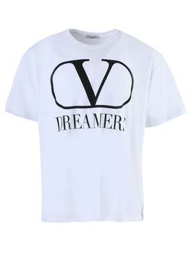 Valentino - Dreamers Logo T-shirt White - Men