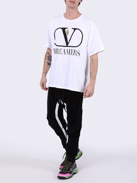 Dreamers logo t-shirt WHITE