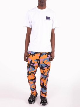 Multicolored Camouflage Cargo Pants