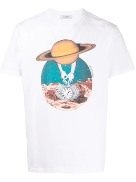 Valentino - Multicolored Soul Planets T-shirt Saturn - Men