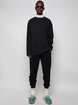 MINI LOGO LONG SLEEVE T-SHIRT BLACK