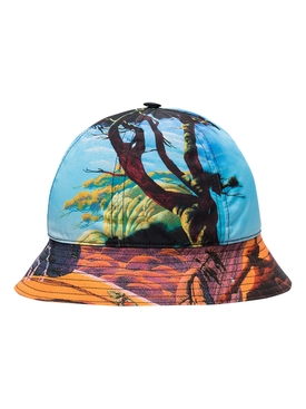 Valentino - Landscape Print Bucket Hat - Men