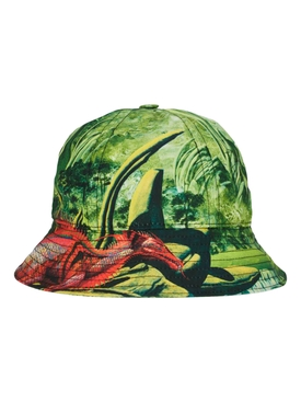 Valentino - Green And Red Dragon Bucket Hat - Men