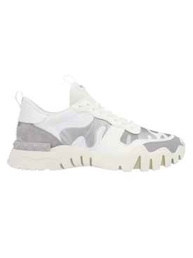 Camo Rock runner Sneakers WHITE