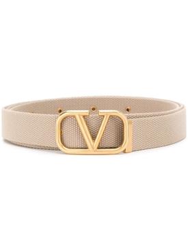 Gold tone v-logo belt NEUTRAL