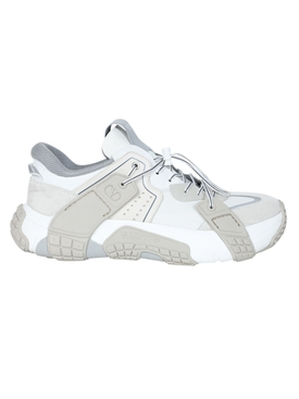 Multicolored color-block sneakers WHITE/NEUTRAL