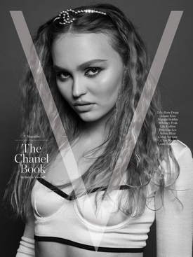 The Chanel Book Lily-Rose Depp