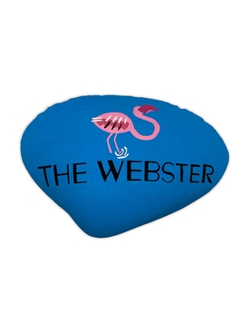 The Webster Seashell, Blue