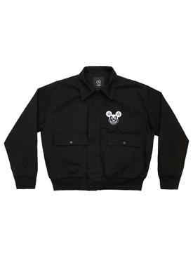 Mischief Bomber Jacket Black