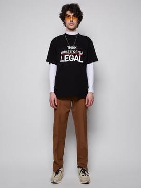 HUMAN RIGHTS T-SHIRT BLACK