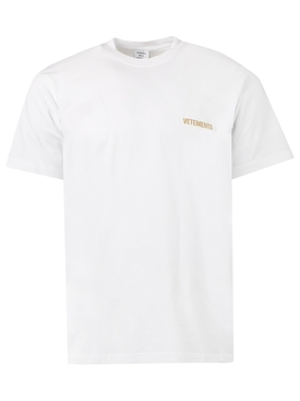 ICONIC LOGO T-SHIRT, WHITE