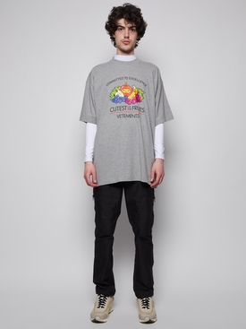 Cutest of The Fruits T-shirt Grey Mélange