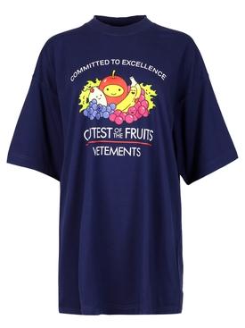 Cutest of The Fruits T-shirt Dark Blue