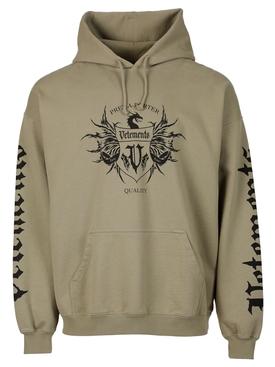 Black Label Hoodie Grey