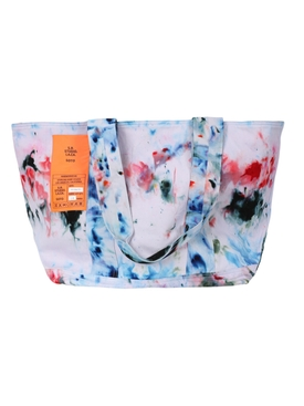 Hand-dyed Soto laundry tote bag