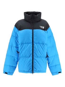 Puffed down jacket BLUE BLACK