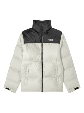 Puffed down jacket GREY BLACK