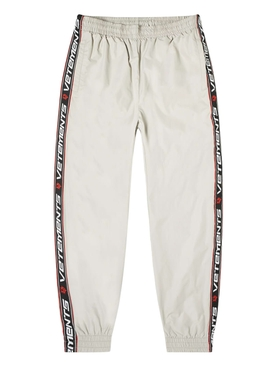 GREY TAPE TRACKSUIT PANTS