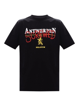 Antwerpen Screwed t-shirt BLACK