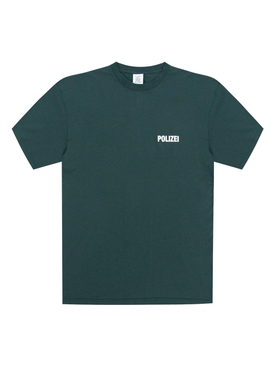 Contrast logo t-shirt GREEN