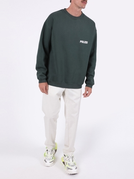 Polizei crewneck sweater GREEN