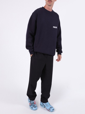 Polizei crewneck sweater NAVY