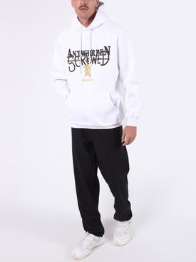 Antwerpen Screwed hoodie WHITE