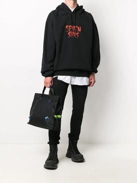 Seven Sins hoodie BLACK