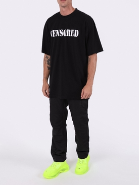Censored t-shirt BLACK