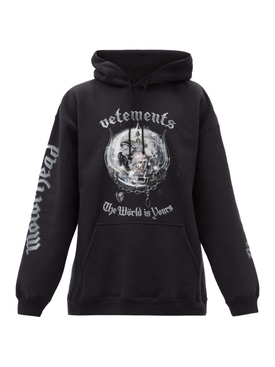 X The World Motorhead The World is Yours Hoodie