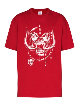 X The World Motorhead Big Skull T-shirt RED