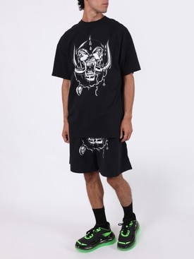X The World Motorhead Big Skull T-shirt BLACK