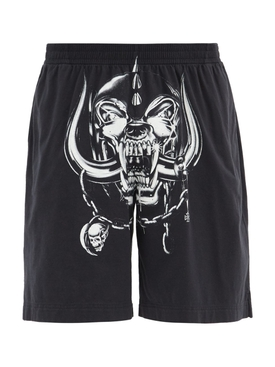 X The World Motorhead Big Skull Shorts