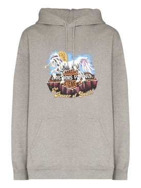 MAGIC UNICORN HOODIE GREY